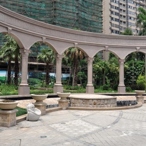 园林雕刻艺术也是对城市自然环境的另一种保护