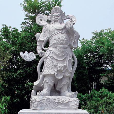 上海崇明岛無爲寺工程案例【伽藍菩薩(關公)】