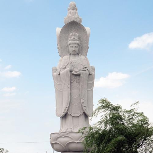 江苏省兴化市戴南镇董北村【三面觀音】