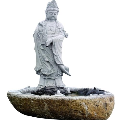 厦门進明寺工程案例【滴水觀音雕像】