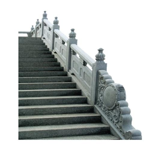 寺庙石栏杆