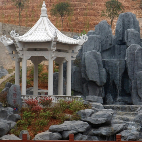 园林凉亭石雕