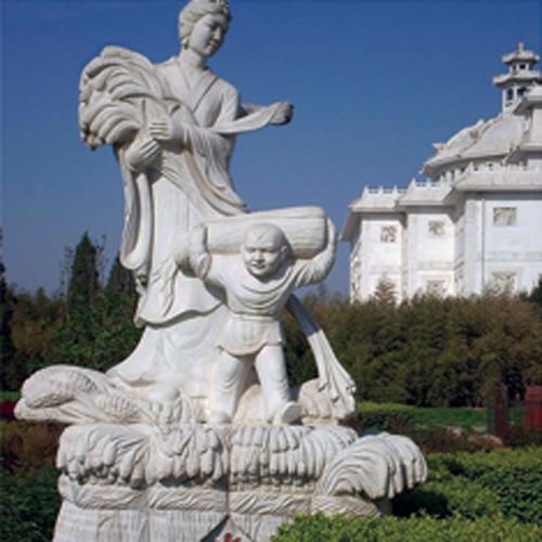 武汉城市雕塑—古代人物石雕