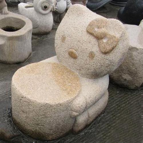 园林景观石椅-2