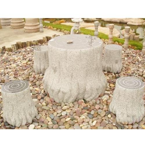 园林景观石桌椅-5