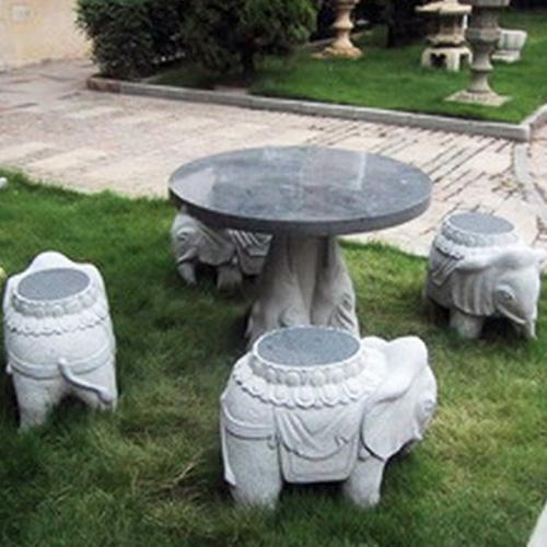园林景观石桌椅-10