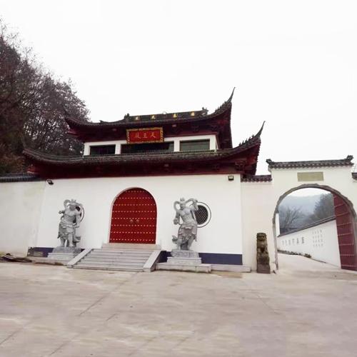 寺庙建筑人物佛像